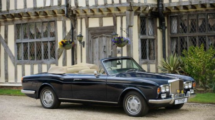 Sir Elton John's Bentley for sale at Bonhams