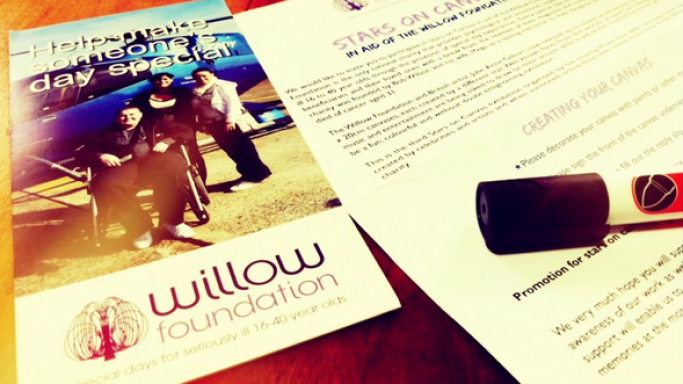 Jude Law supports the efforts of Willow Foundation