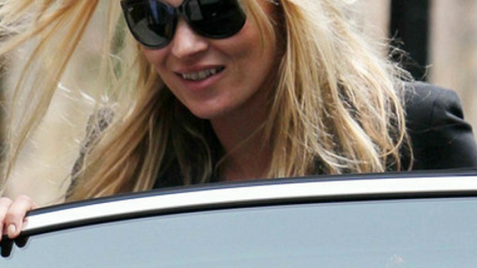 Kate Moss likes to slip into the old schoolgirl feel with her Ray Ban Cats 1000 Sunglasses