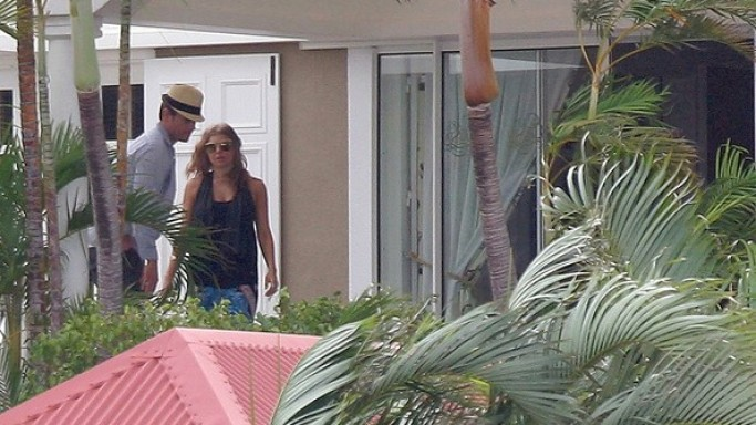 Fergie and Josh Duhamel on vacations in St. Barts