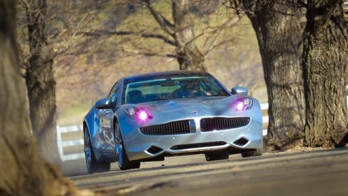 The Fisker Karma is the very recent addition to Rick's collection of luxury cars.