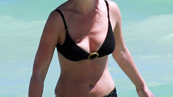 Katherine Heigl on Miami vacation