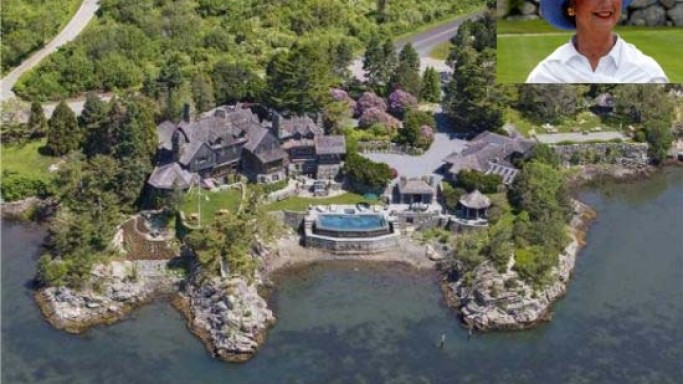 Campbell's Soup Heiress' $15.8M Rhode Island Estate comes with a private dock