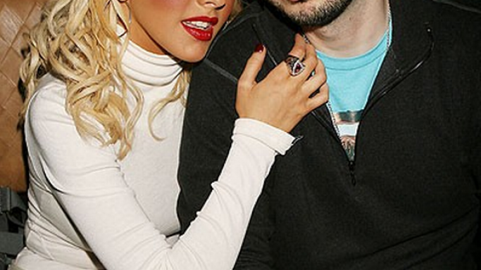 Christina Aguilera and Jordan Bratman
