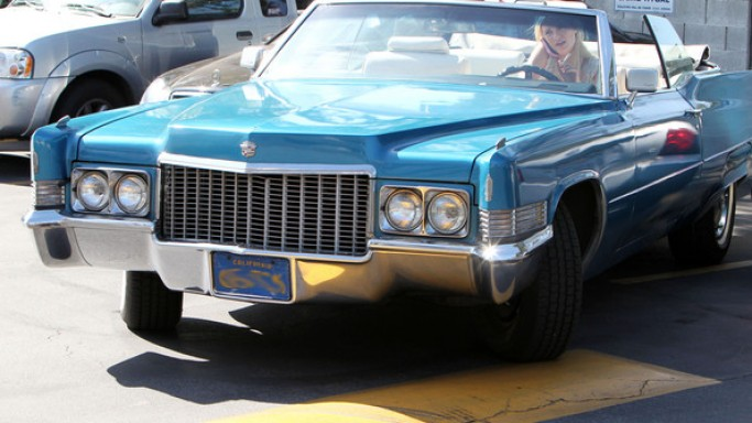 Cadillacs seem to be an all-time favorite among the rich and the famous. actress Mischa Barton too purchased the classic vintage 1959 Cadillac Coupe Deville for $15,000 in February 2010.