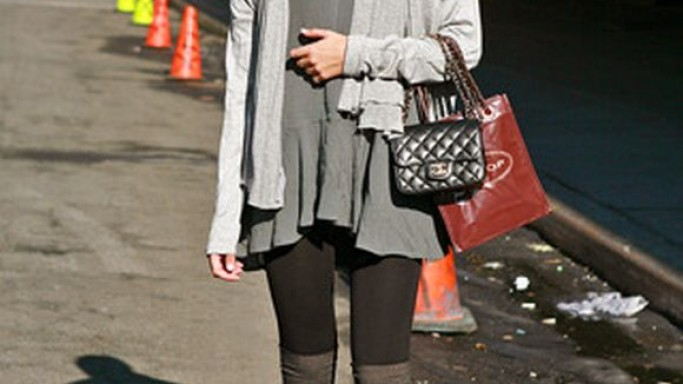 Gorgeous Candice Swanepoel was spotted carrying the mini flap bag from reputed fashion brand Chanel.