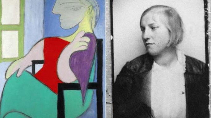 Sotheby's sold Picasso's iconic portrait of his 'Golden Muse' Marie-Thérèse Walter for $45 million