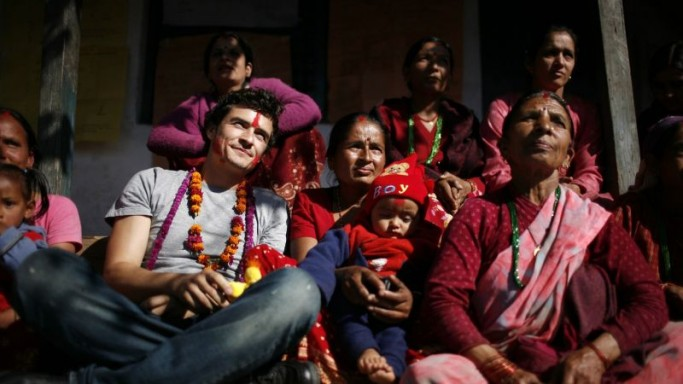 Orlando Bloom Serves Nepal for UNICEF