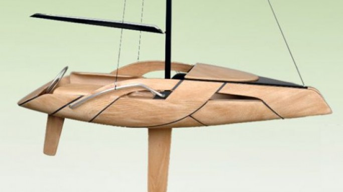 Schoener Boot Fahren Wooden Boat – Green meets art in style!