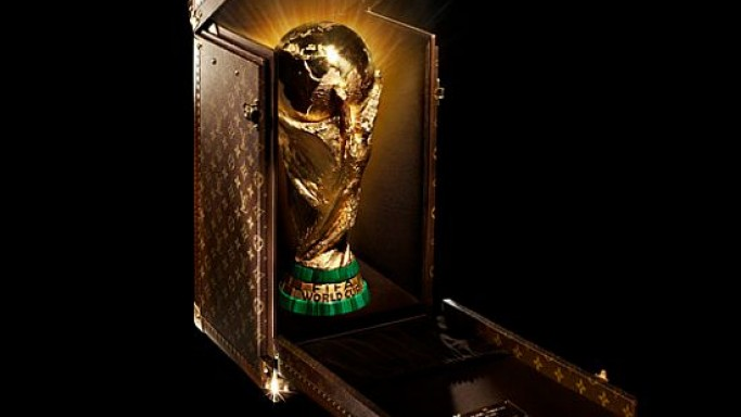 Louis Vuitton unveils the FIFA World Cup Trophy travel case