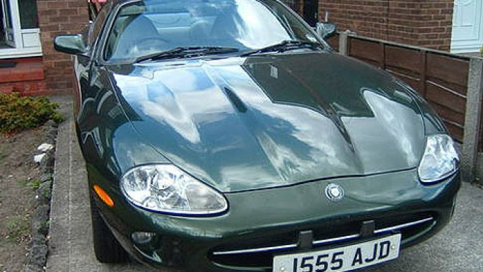 photo of Alan Shearer 1996 XK8 Coupe - car