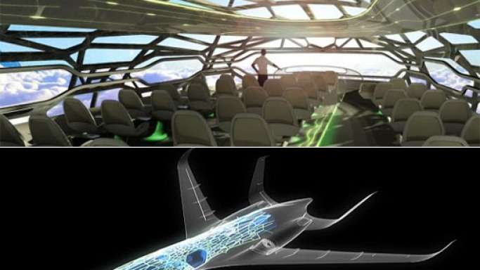 Airbus reveals transparent plane to revolutionize air travel