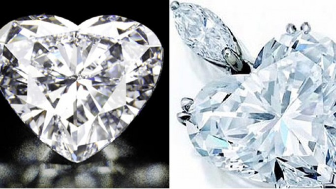 World's most expensive heart shaped diamonds