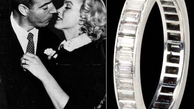 Marilyn Monroe's wedding ring to hit auction block