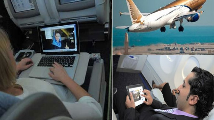 Gulf Air launches world's first aircraft with live TV and Internet
