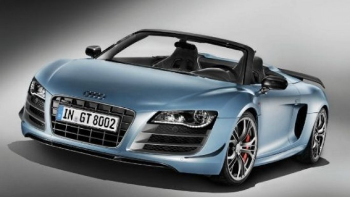 Limited Edition 2012 Audi R8 GT Spyder costs $210,000