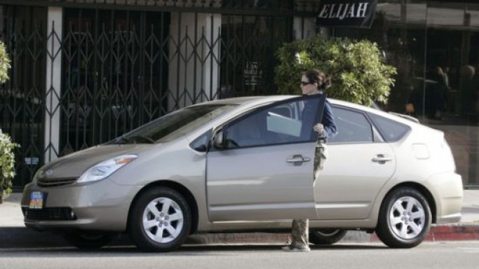 Prius car - Color: Silver  // Description: affordable