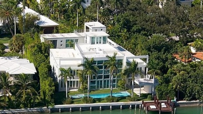 Lil' Wayne house in Miami, Florida