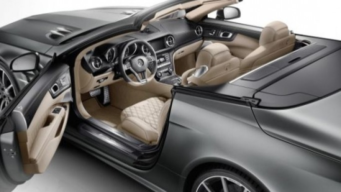 Mercedes-Benz SL 65 AMG 45th Anniversary edition unveiled