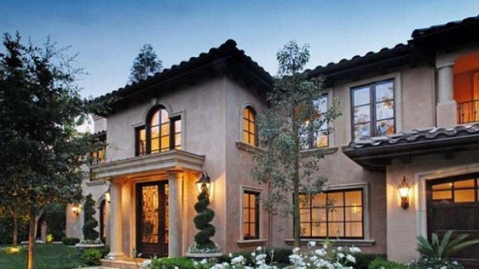 Kim Kardashian house in Beverly Hills, CA, USA
