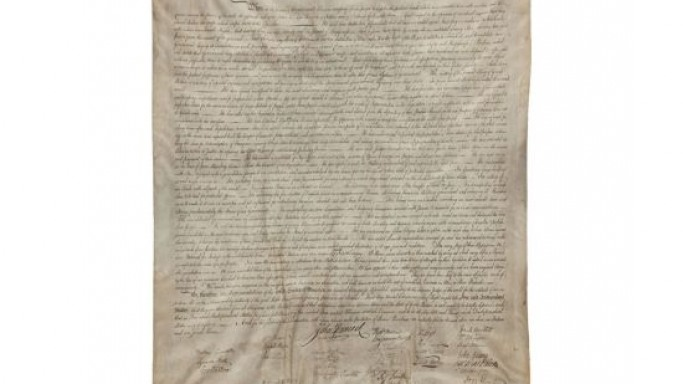 1823 printing of the Declaration of Independence fetched $597,500