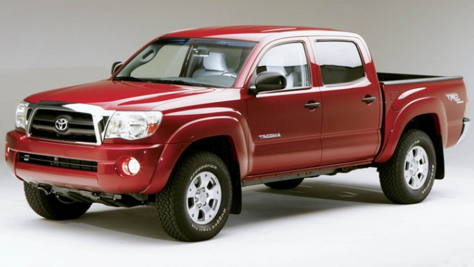 Tacoma car - Color: Red  // Description: nice