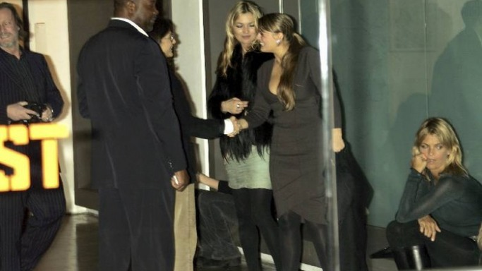 Kate Moss San and Ruby charity event at Milk studio for the tsunami benefits