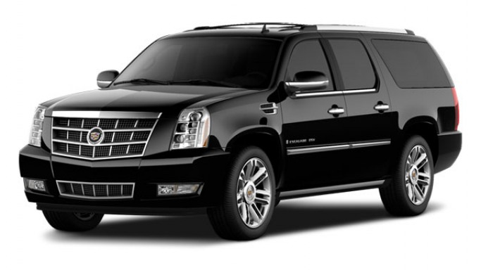 Cadillac Escalade car - Color: Black  // Description: amazing