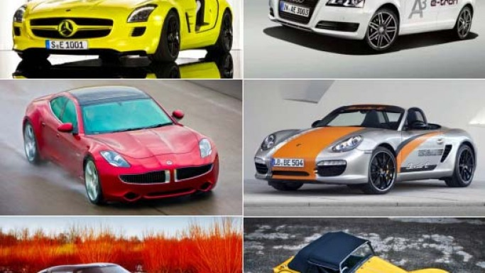 Most expensive electric cars for the eco-friendly billionaires