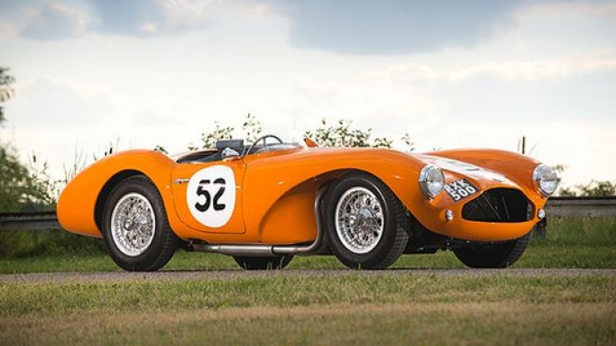 Historic 1955 Aston Martin DB3S Sports Racing Car to fetch $3.8 million at Monterey auction