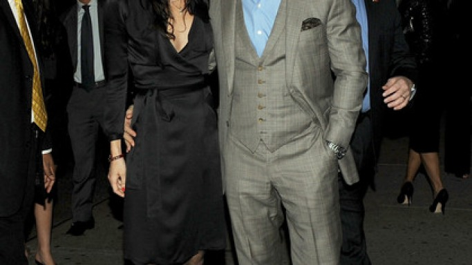 Daniel at 5th annual Worldwide Orphans Foundation gala with Satsuki Mitchell