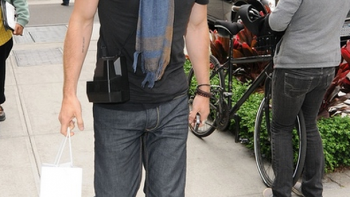 This sun-glass is one of Ian's favorite accessories and he puts them on frequently.