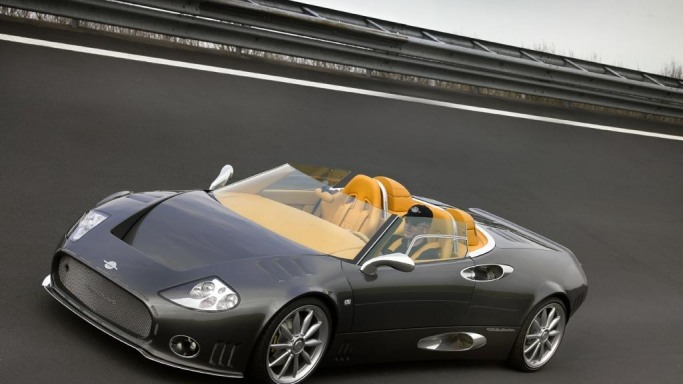 Spyker C8 Spyder - Bornrich , Price , Features,Luxury factor, Engine ...