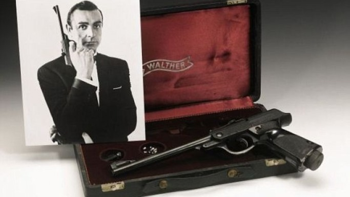 James Bond's Walther air pistol from 'Russia with Love' is up for sale – Get 007's licence to kill