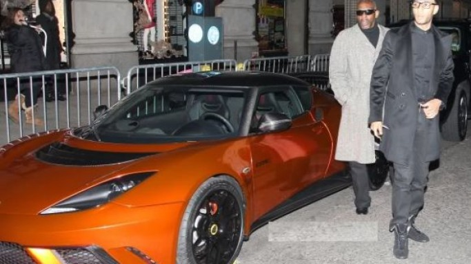 Swizz Beatz drives Lotus Evora GTE