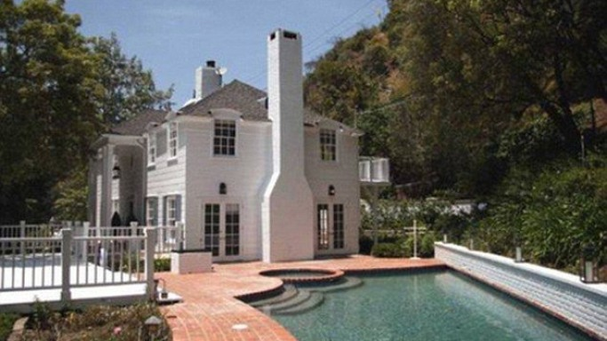 Lindsay Lohan's Beverly Hills home