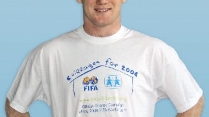 Wayne Rooney supports SOS Children's Villages program