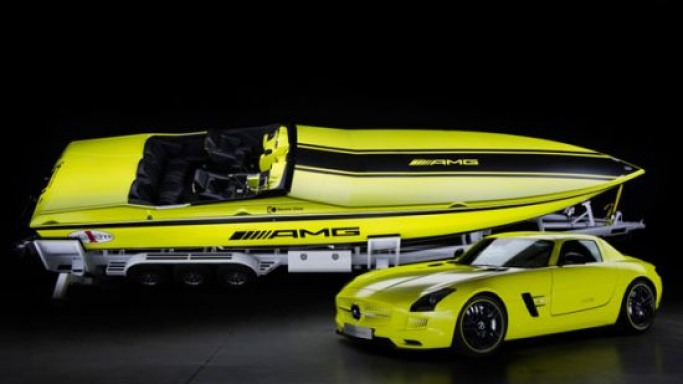 Cigarette AMG Electric Drive Concept is the Powerful & Fastest Electric Drive Powerboat Electrified by Mercedes-AMG
