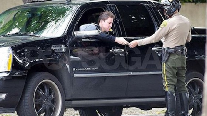 photo of Channing Tatum Cadillac Escalade - car