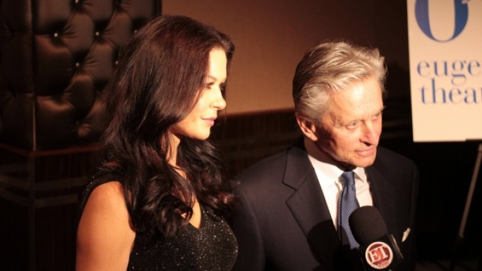Michael Douglas supports Dream Foundation