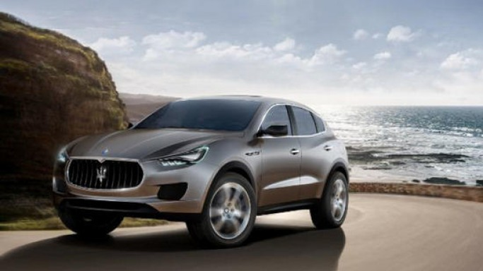 Maserati unveils the Levante SUV as they begin their new journey