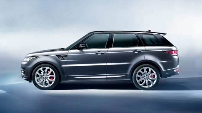 Range Rover Sport SuperCharged car - Color: Black  // Description: graceful