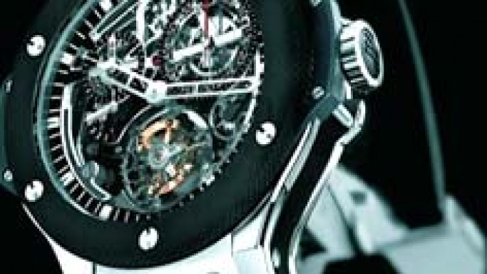 Hublot Develops World's First Tourbillon Column-Wheel Chronograph