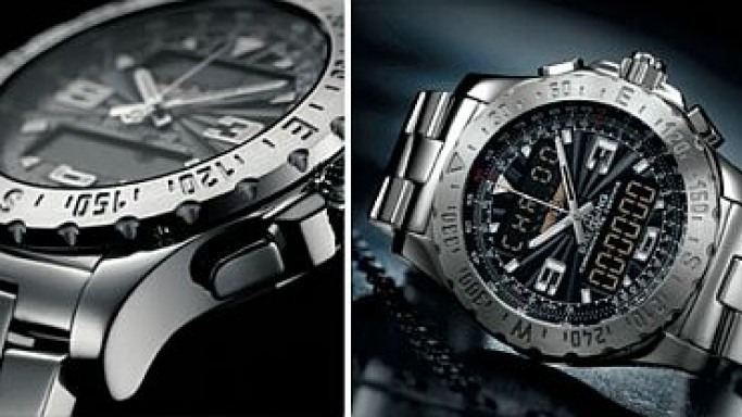Breitling New Range of Electronic Chronograph