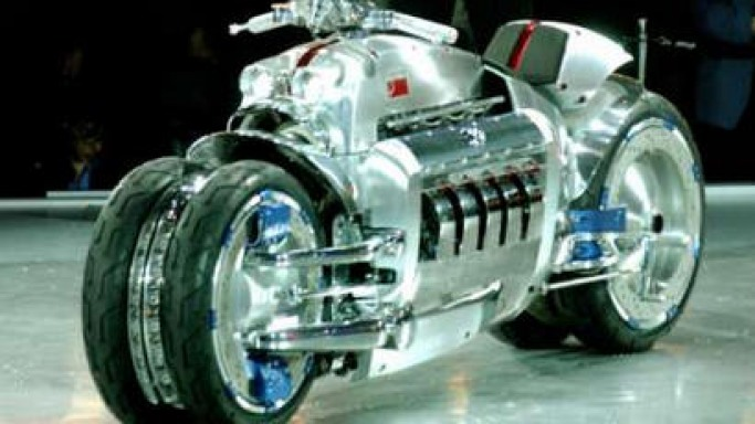 Chrysler Tomahawk V10 Motorcycle Ready For Production