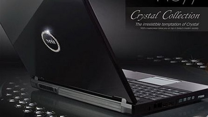 MSI Unveils Luxurious Crystal Laptop Collection