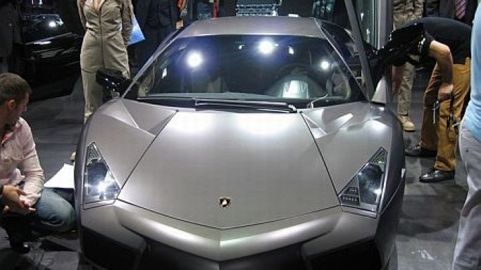 Last Lamborghini Reventon supercar up for grab