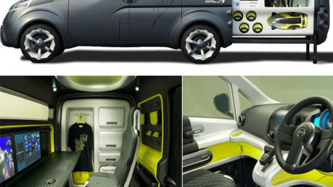Nissan to Unveil 2007 Mobile Office Concept