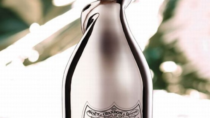 Dom Perignon's limited edition gold-plated bubbly