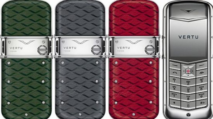 Vertu's 10th Anniversary Constellation Monogram Collection